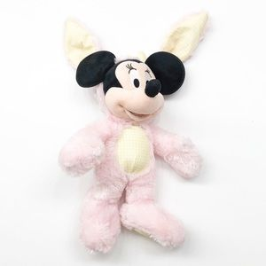 Disney Store Minnie Mouse Easter bunny plush